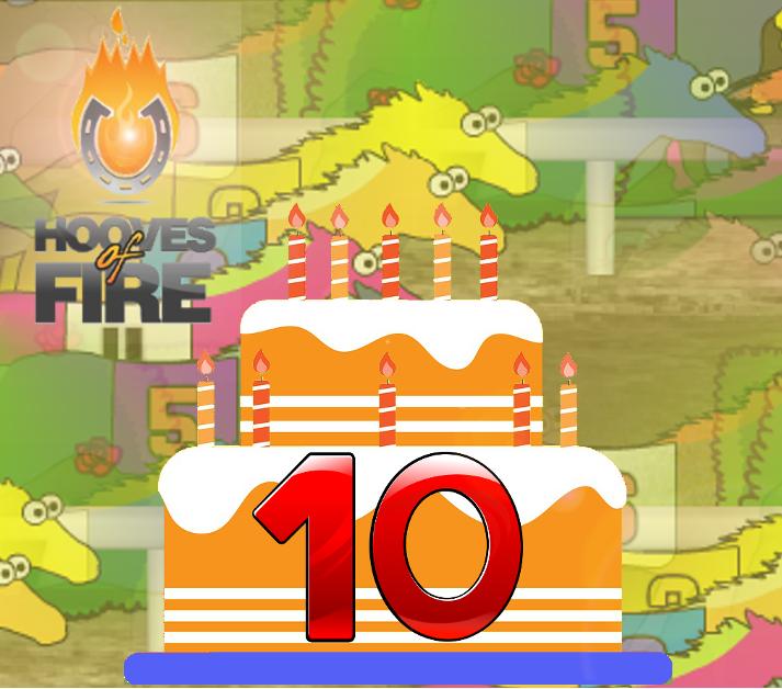 hooves 10th birthday