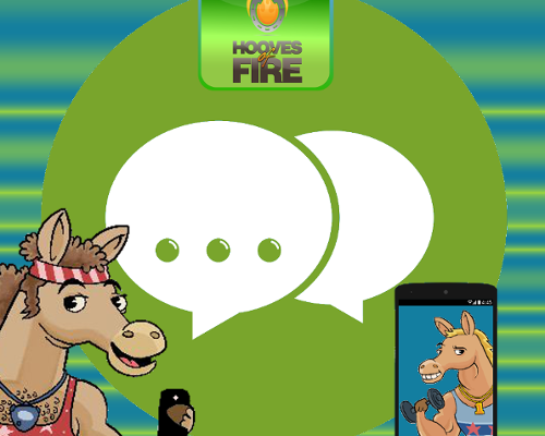 hooves of fire chat